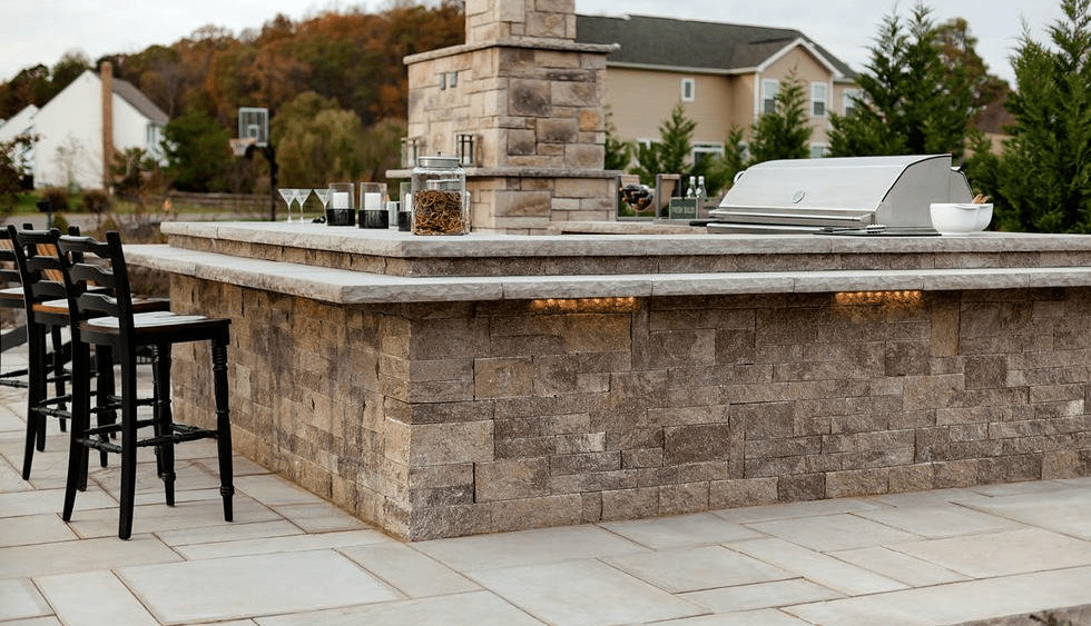Batchelder collins inc techo bloc wall systems for Techo bloc