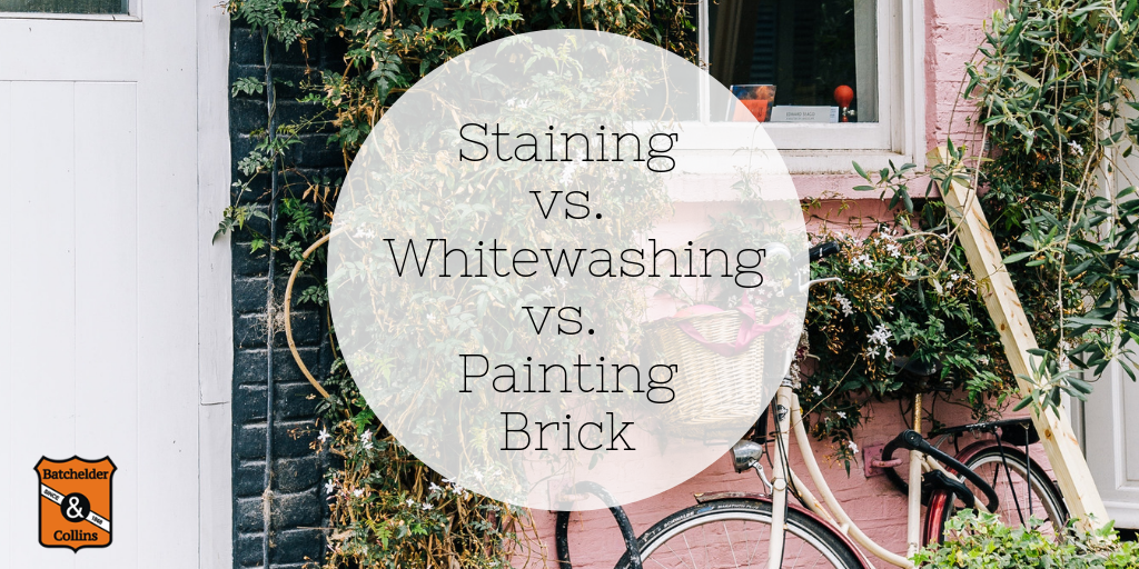 What's the Difference Between Staining, Whitewashing, and Painting Brick?