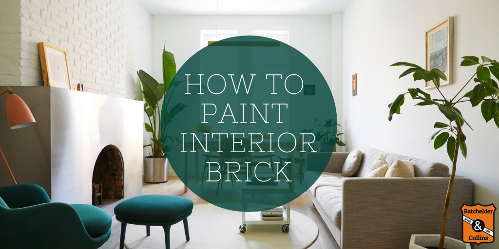 how to paint interior brick