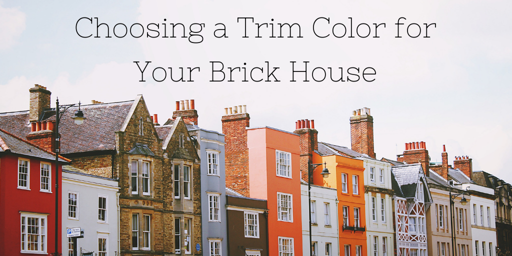 Batchelder & Collins How to Choose a Trim Color for Your Brick House