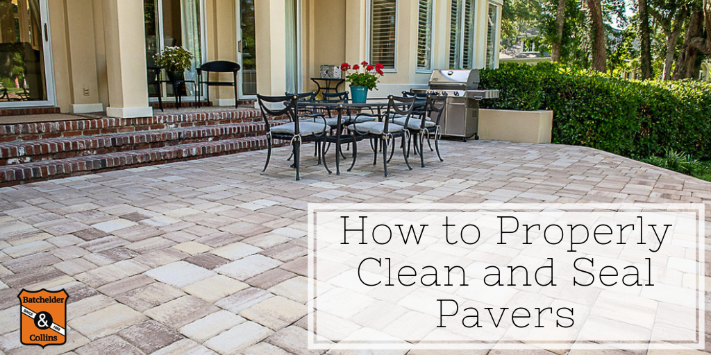 How to Properly Clean and Seal Pavers