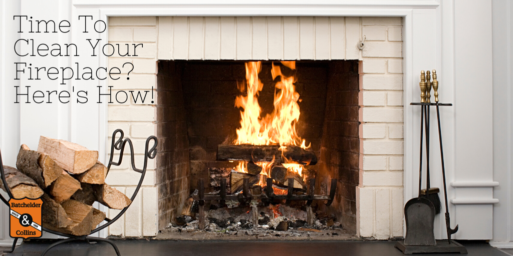 It's Definitely Time To Clean Your Fireplace. Here's How