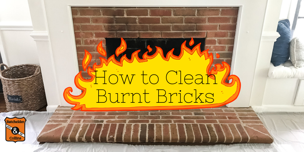 How to Clean Burnt Bricks