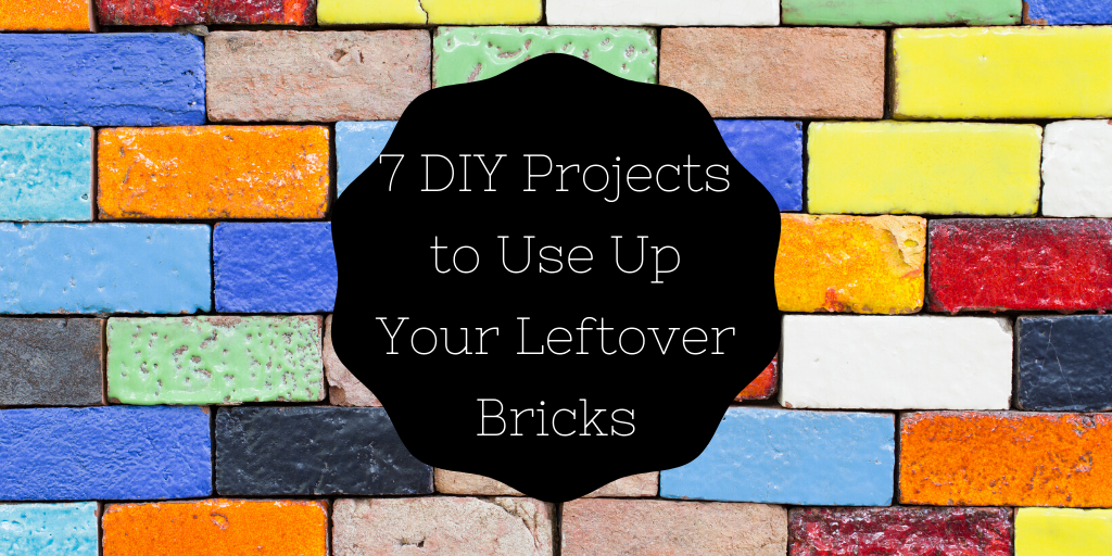 7 DIY Projects to Use Up Your Leftover Bricks