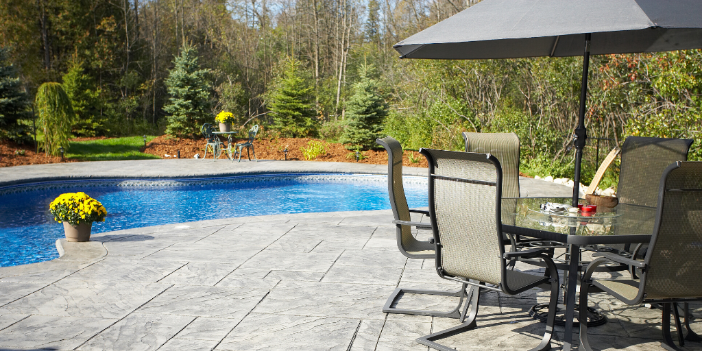 Both brick patios and concrete patios offer their own distinct pros and cons that you should consider when deciding between the two patio materials.